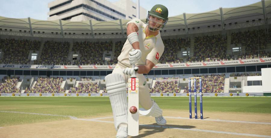 A screenshot from 2017's Ashes Cricket on PS4