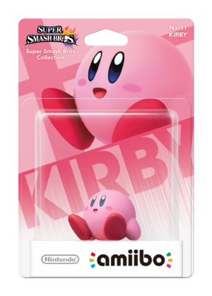 Kirby amiibo Pack