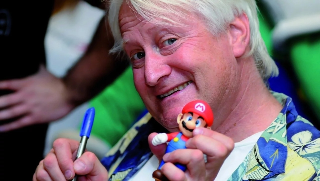 Charles Martinet Receives Guinness World Record For Voicing Mario 100 Times