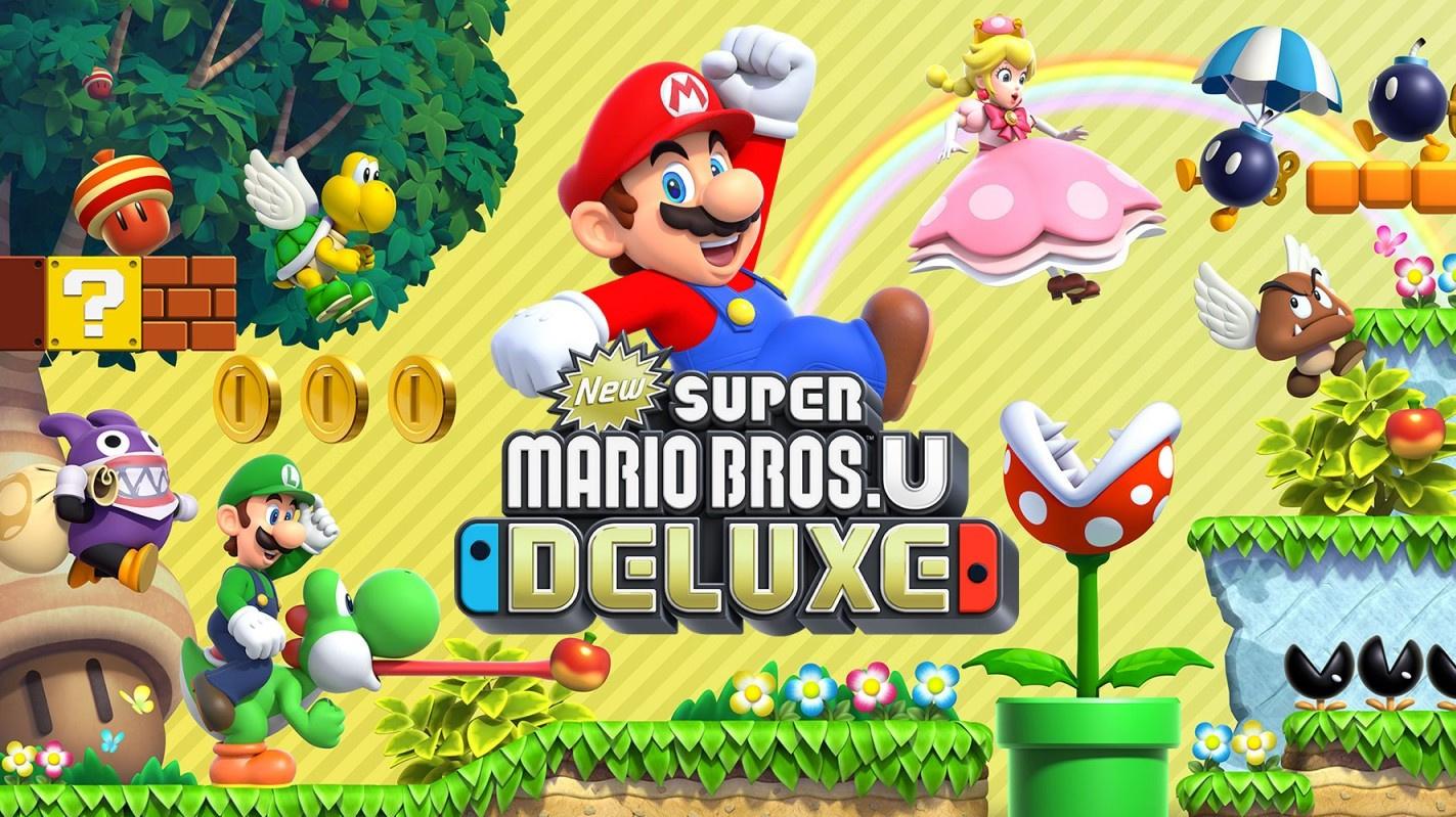 New Super Mario Bros  U Deluxe Japanese Sales Prove Plumber Port