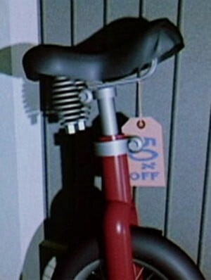 The unicycle from Pixar's CGI short Red's Dream is the reason why Unirally was withdrawn from sale