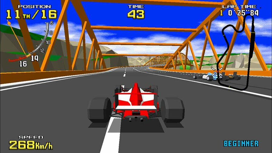 Virtua Racer Single Player