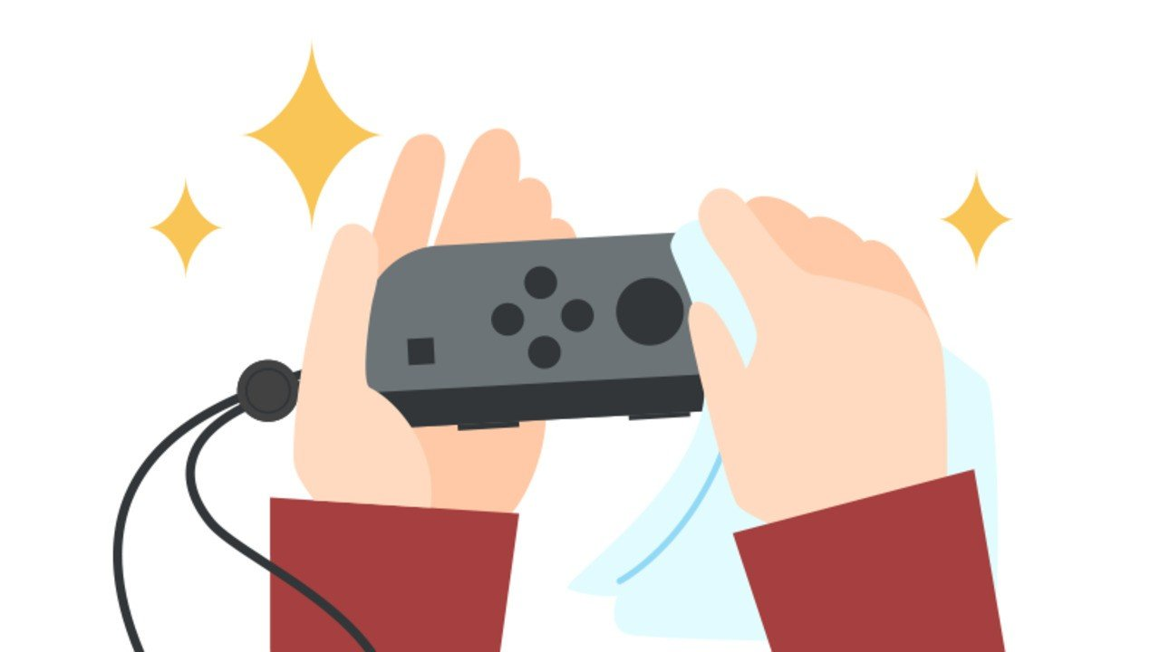 Nintendo Shares Tips On How To Keep Your Switch And Joy-Con Germ-Free - Nintendo Life