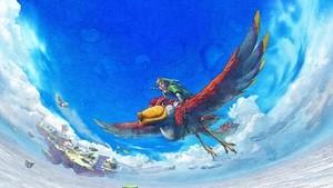 A classic Skyward Sword scene