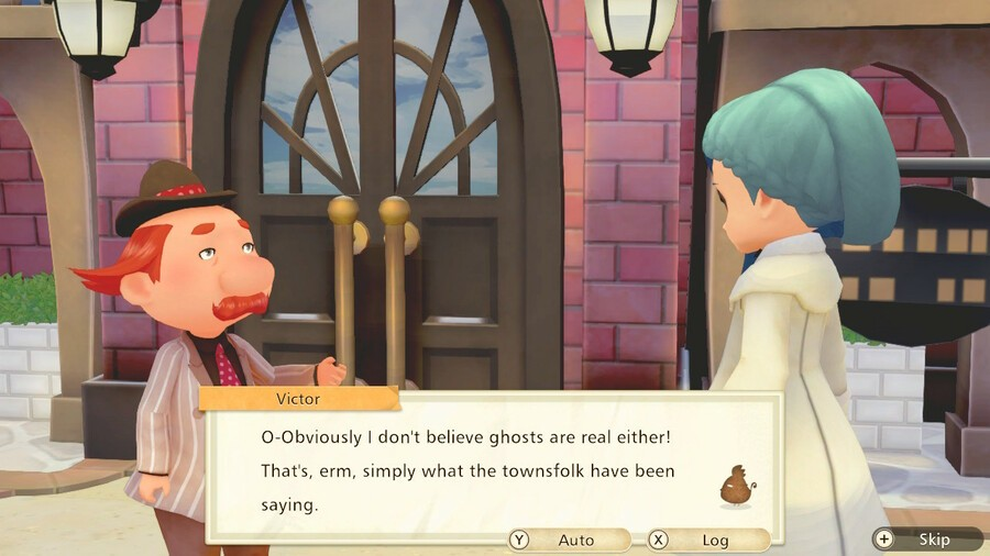 Like the story of the mystery file, the town also has some additional events
