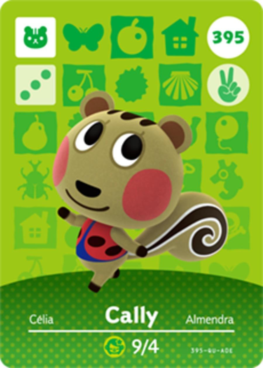 Cally Animal Crossing Amiibo Card