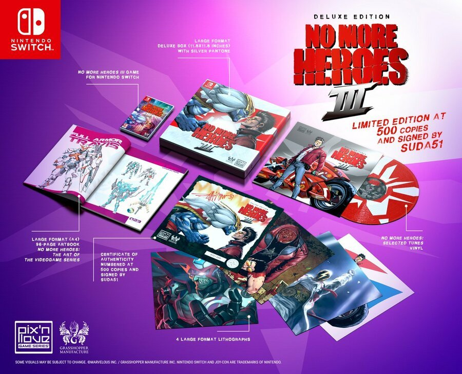 No More Heroes 3 Deluxe Edition