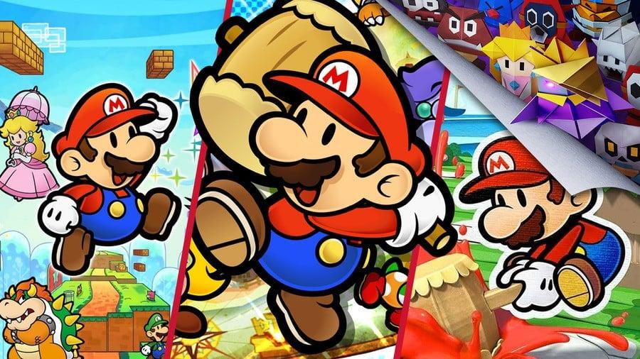 Paper Mario History