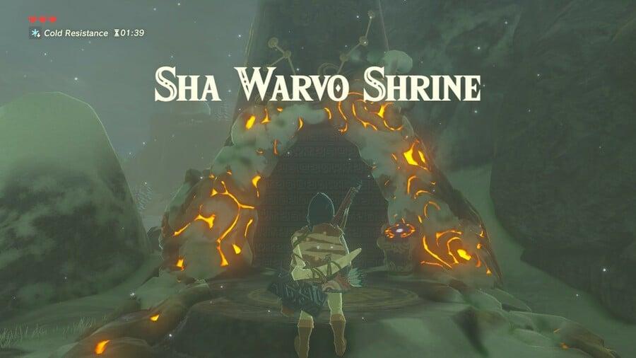 Sha Warvo Entrance