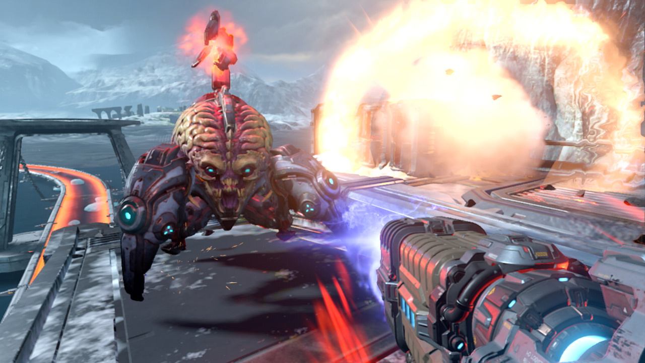 Video: 16 Brutal Minutes Of DOOM Eternal Switch Gameplay