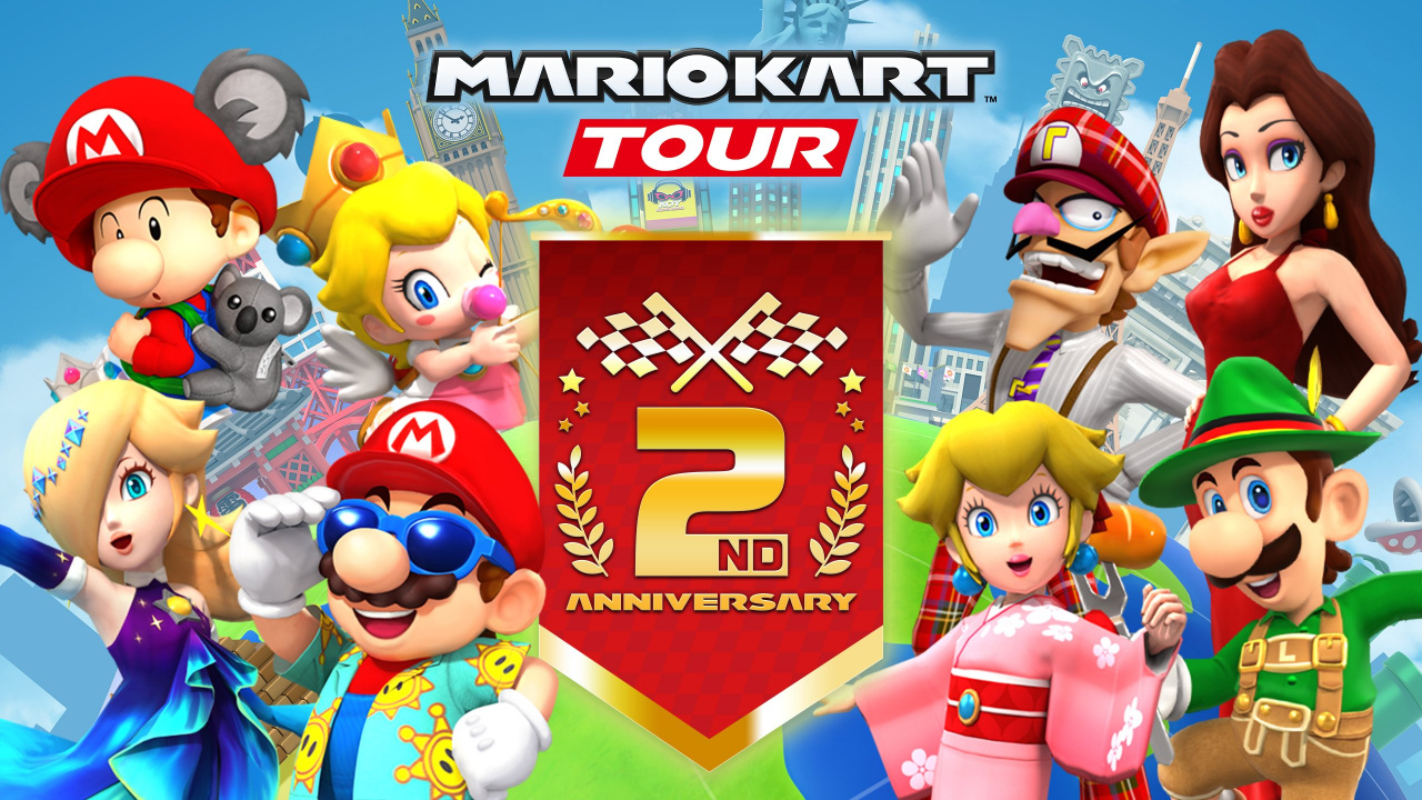 Mario Kart Tour Teases New Event Ahead Of Its 2nd Year Anniversary Next Week