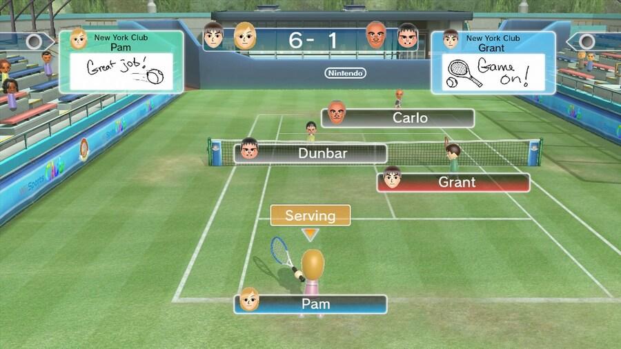 Wii Sports Club Online