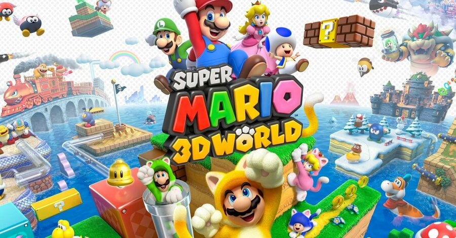 It's been too long since we posted something about Super Mario 3D World
