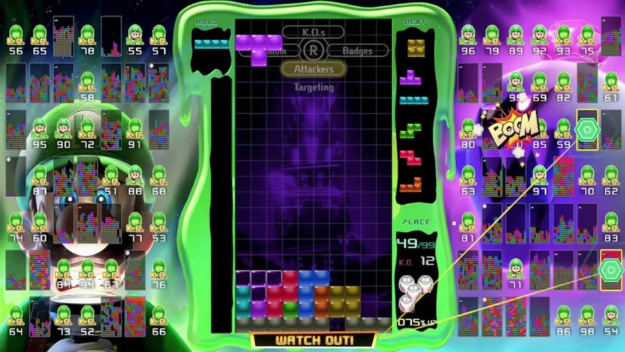 Luigi Tetris