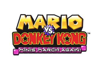 Mario Vs Donkey Kong Minis March Again Review Dsiware