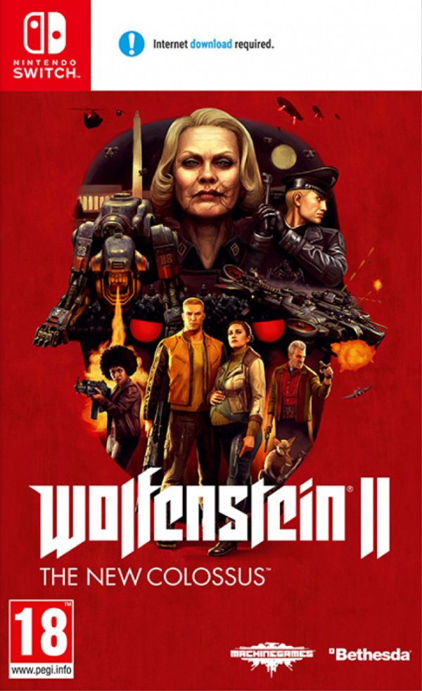 Wolfenstein II: The New Colossus Review (Switch) | Nintendo Life