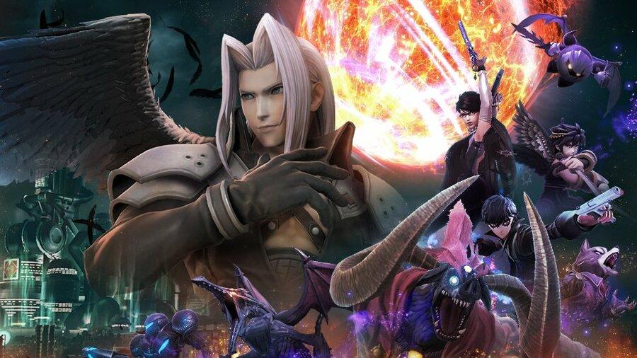 Sephiroth Dark Reunion Smash Ultimate