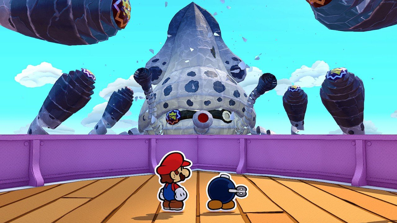 The First Review For Paper Mario: The Origami King Is Now In