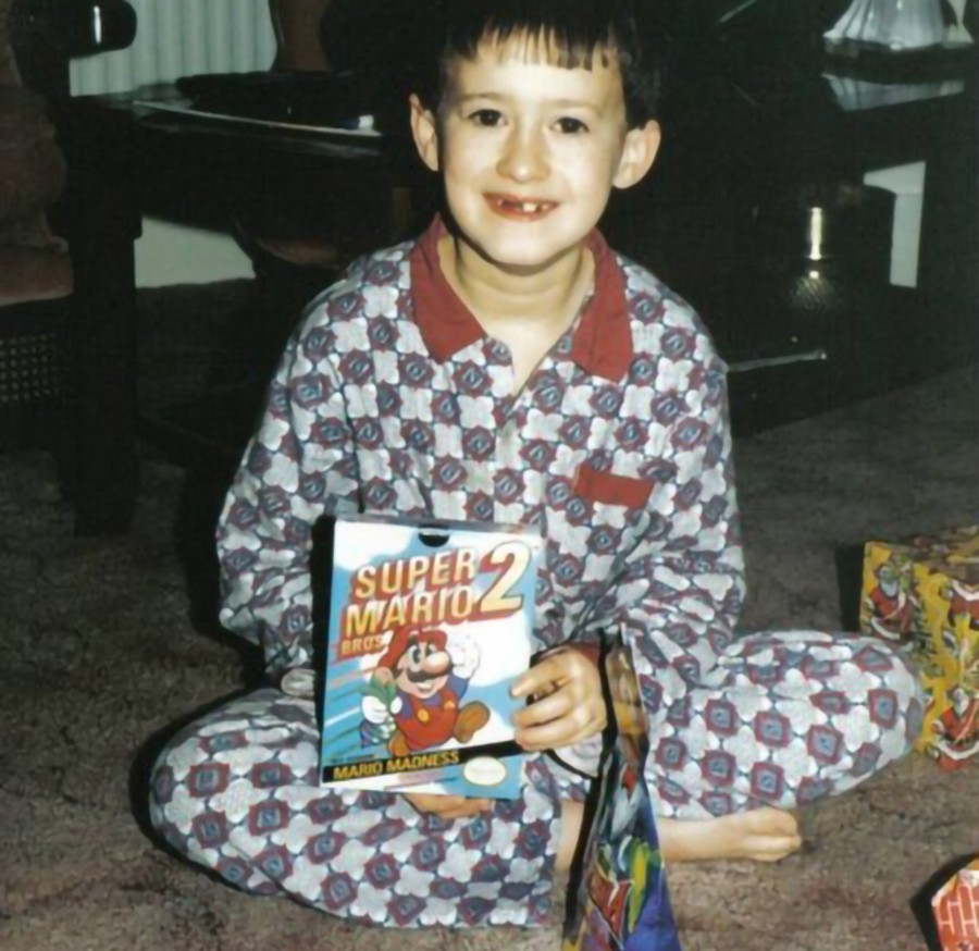 Christmas 1989 gave me Super Mario Bros. 2. Thanks, Santa!