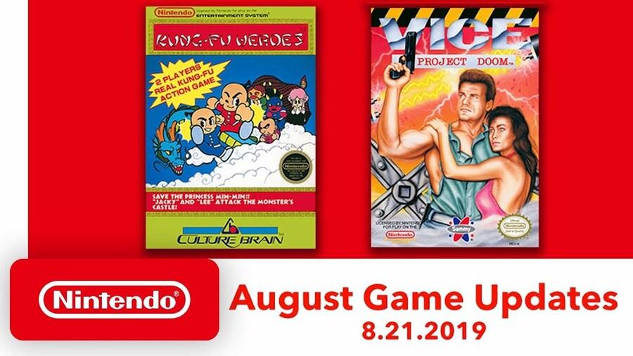 August Game Updates