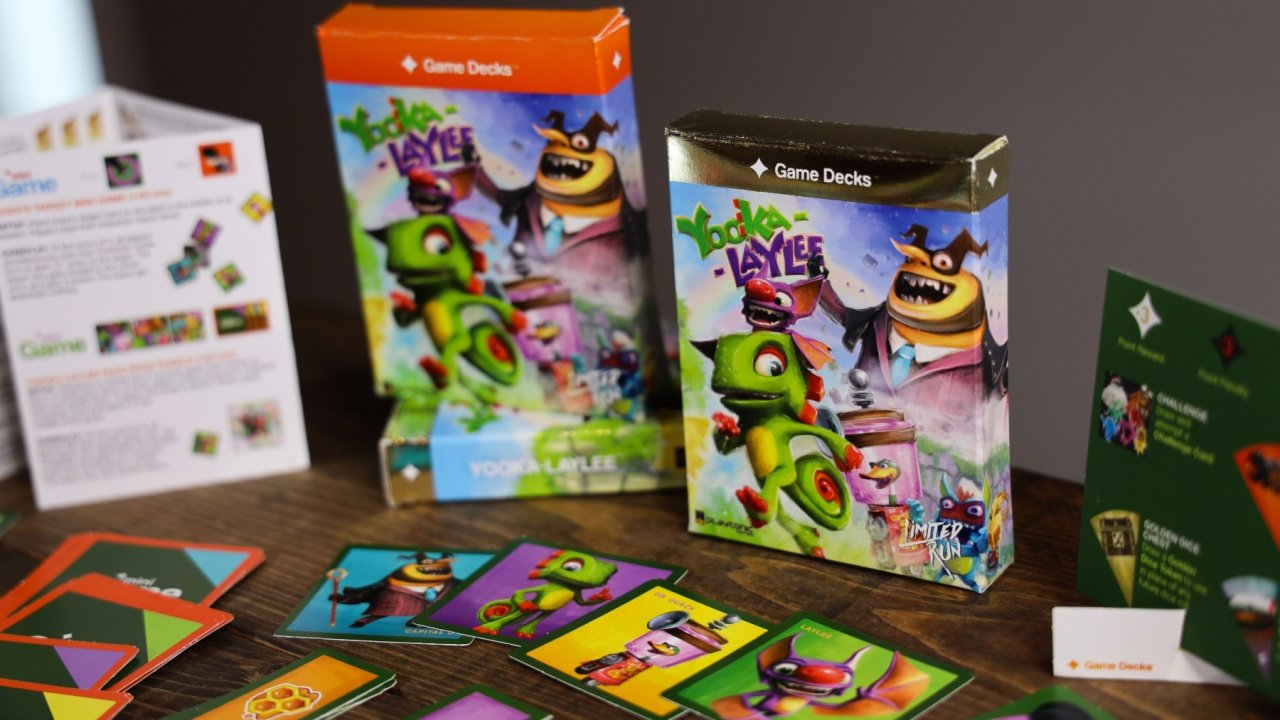 Yooka-Laylee Is Getting Its Own Tabletop Game And A Brand New Soundtrack