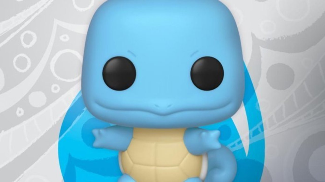 Pre-Orders Are Now Live For The Squirtle Funko Pop Figure
