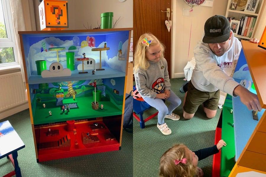 Home Made Super Mario World Play Set
