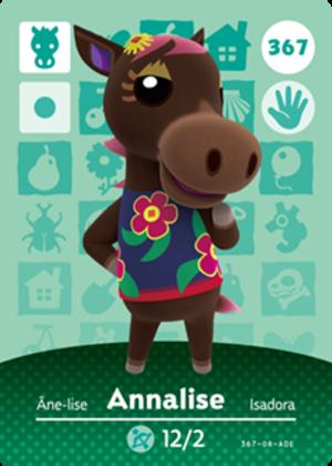 Annalise amiibo card