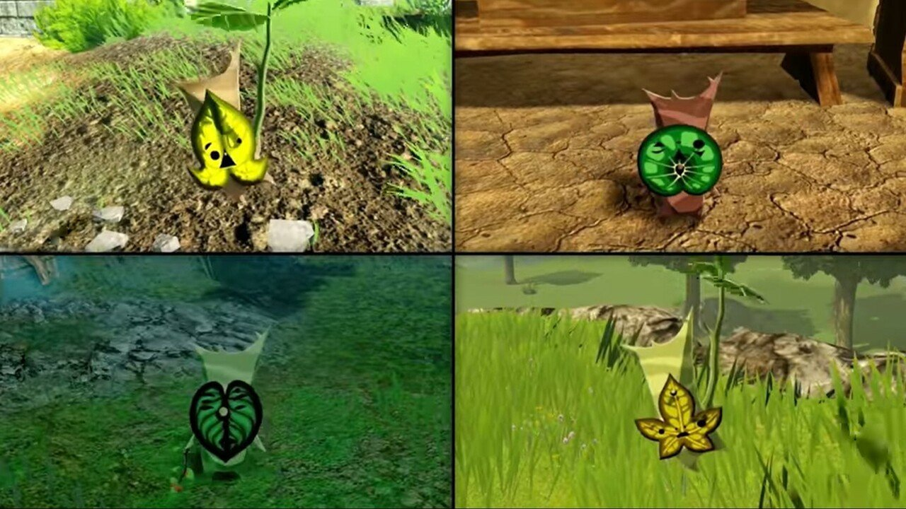 Hyrule Warriors Age Of Calamity Korok Locations Nintendo Life