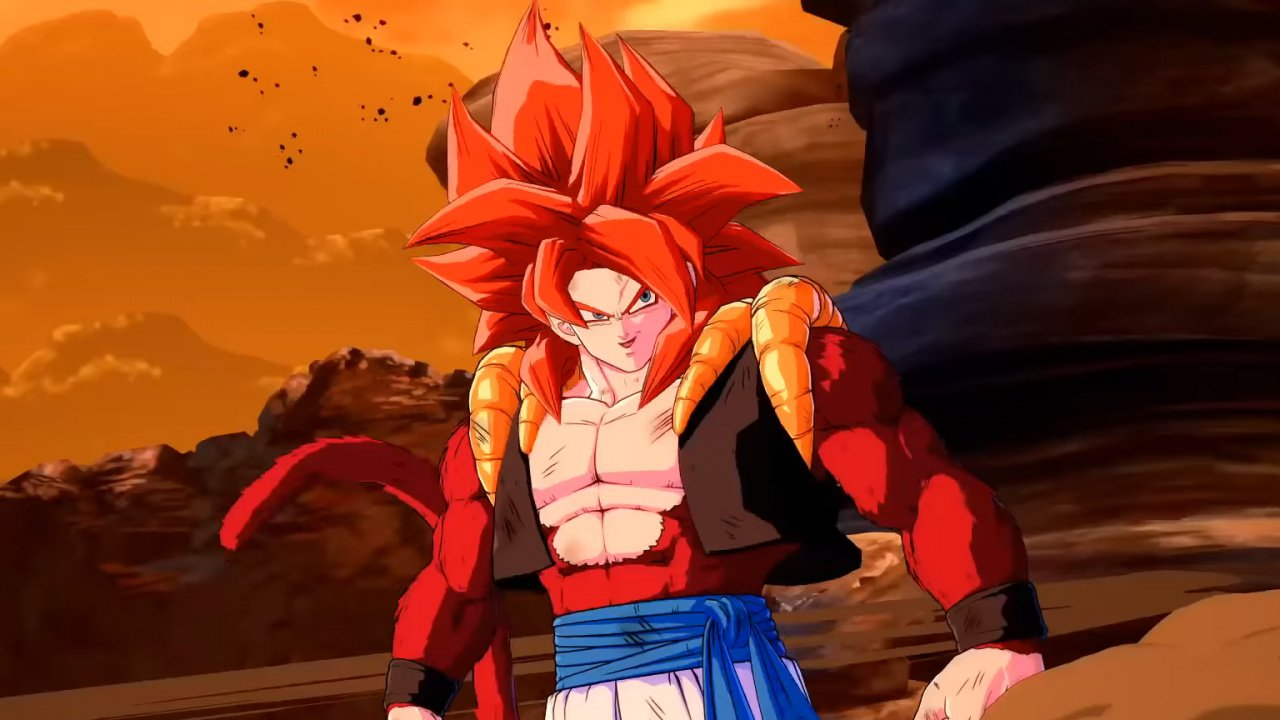 Gogeta [SS4] Has Joined The Dragon Ball FighterZ Roster