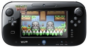 Shown are just some of many buttons available to you in your Mutant Mudds Deluxe experience