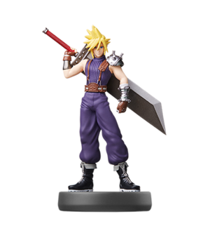 Cloud amiibo