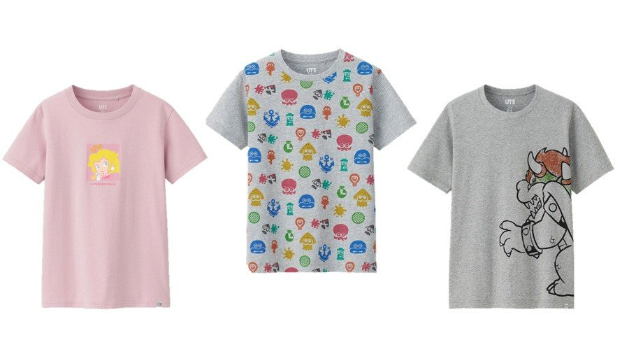 uniqlo mario splatoon