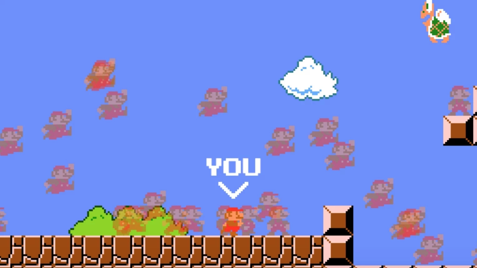 Super Mario Battle Royale Game Receives Takedown Notice From