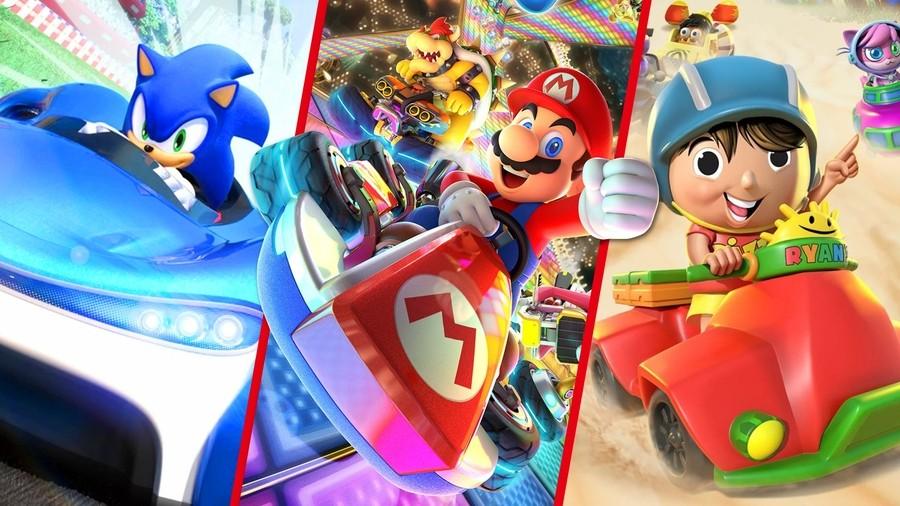 Best Nintendo Switch Kart Racing Games