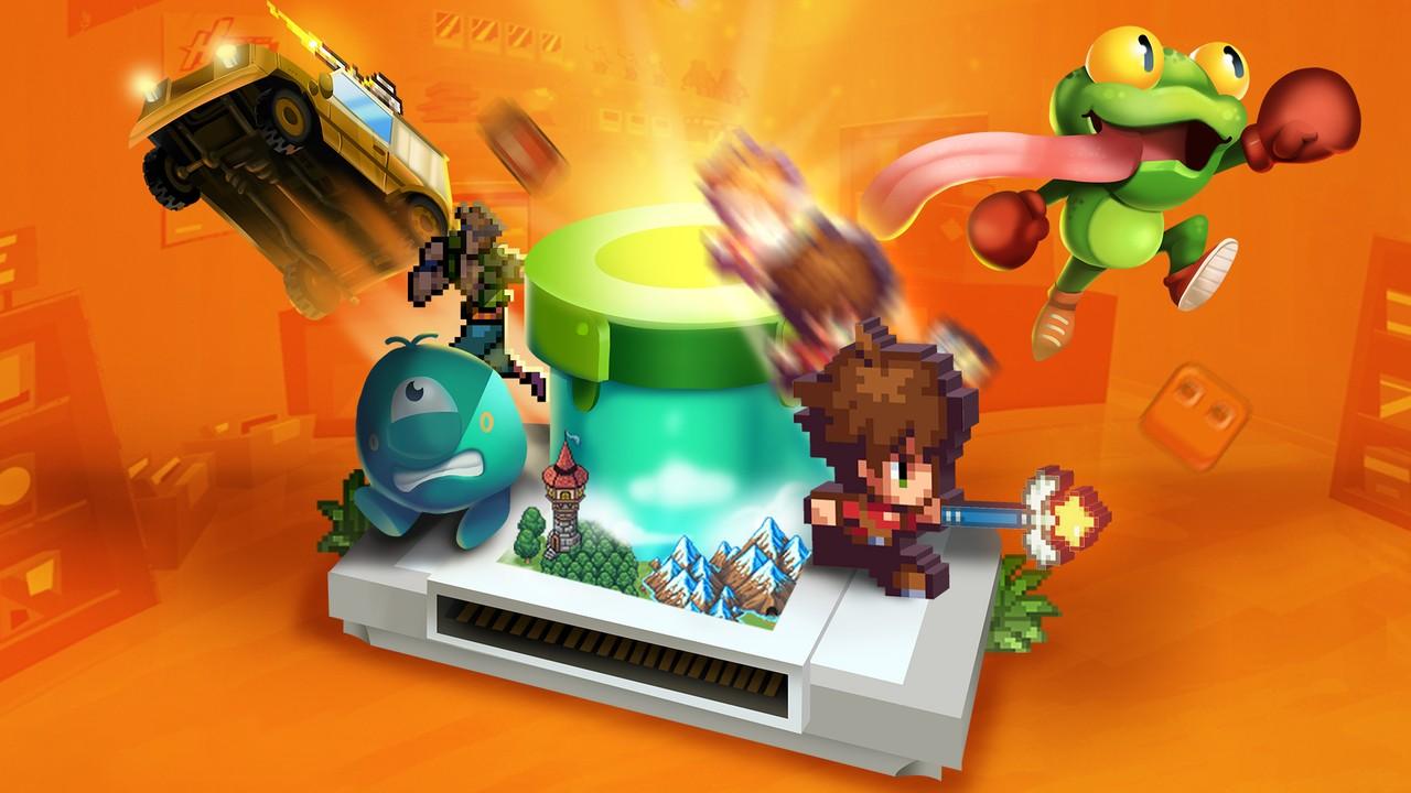 """Trò chơi """"Trò chơi tạo ra trò chơi"""" SuperMash đã được ra mắt vào Switch 8  Tháng 5 2"""