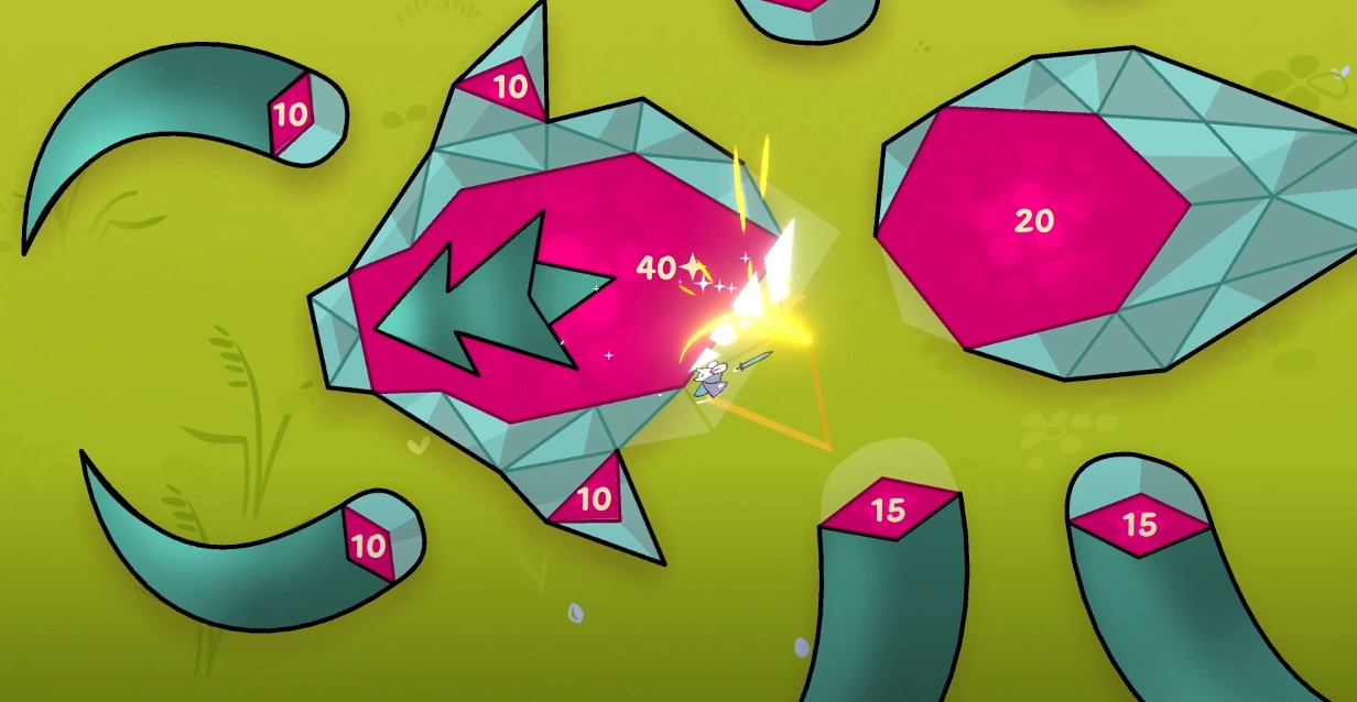 From The Creator Of Threes Comes Beast Breaker, A Ball-Bouncing Game About A Tiny Mouse