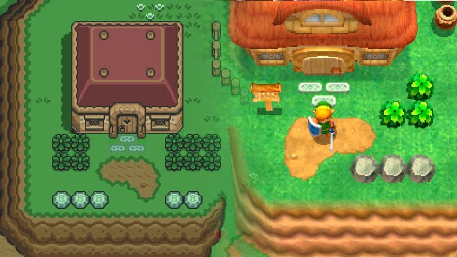 ALTTP and ALBW: Link's House(s)