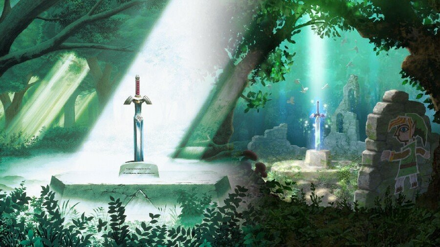 ALTTP and ALBW: The Master Sword(s)