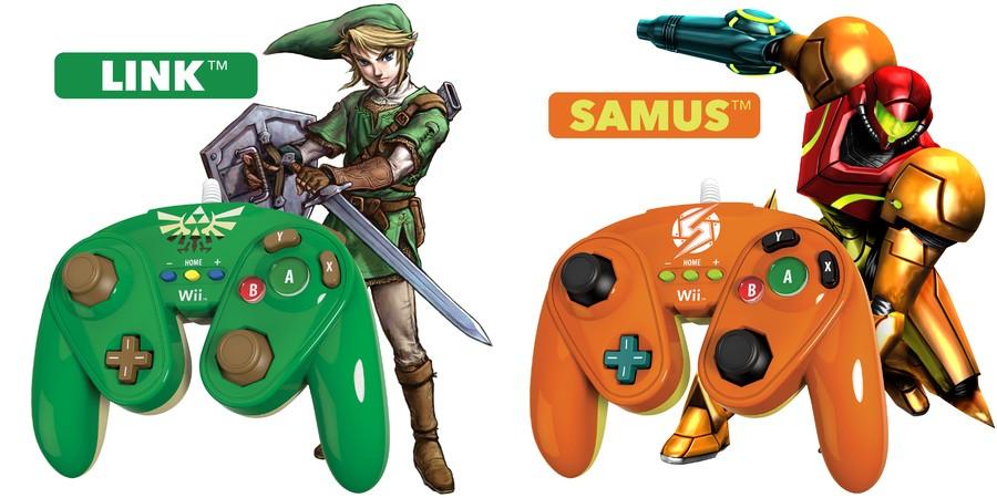Link and Samus