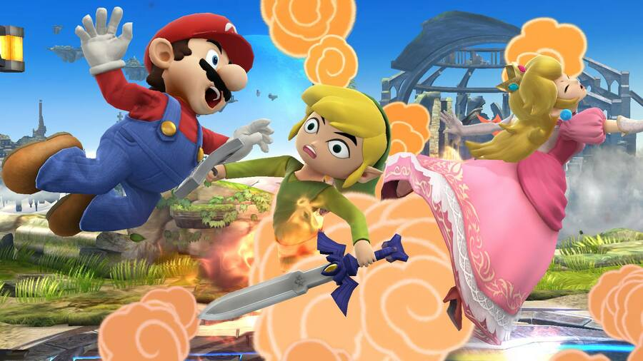 Super-Smash-Bros-3DS-Wii-U-Toon-Link-Peach-Mario-Battlefield.jpg