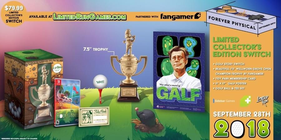 LimitedRunGames Golf Story
