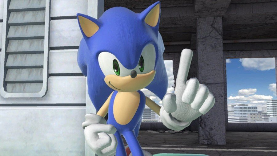Sonic as seen in Super Smash Bros. Ultimate (2018)