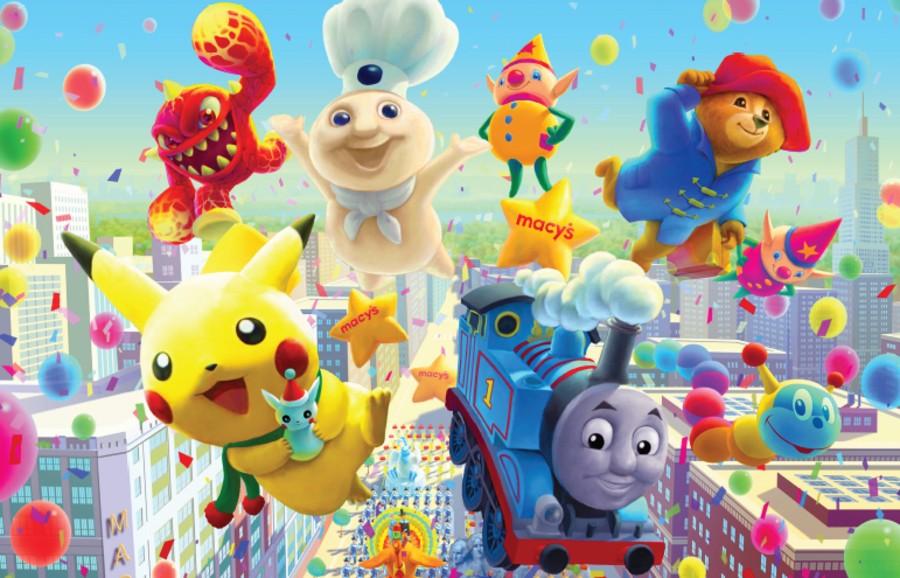 Pikachu Thanksgiving Day Parade