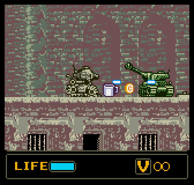 Sonic Pocket Adventure (left) and Metal Slug: 1st Mission/2nd Mission (right)