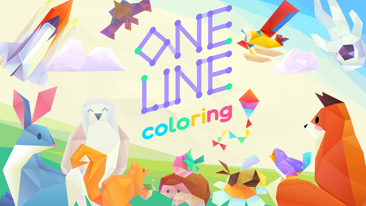One Line Coloring Is A Connect-The-Dots Style Puzzler Coming To Switch