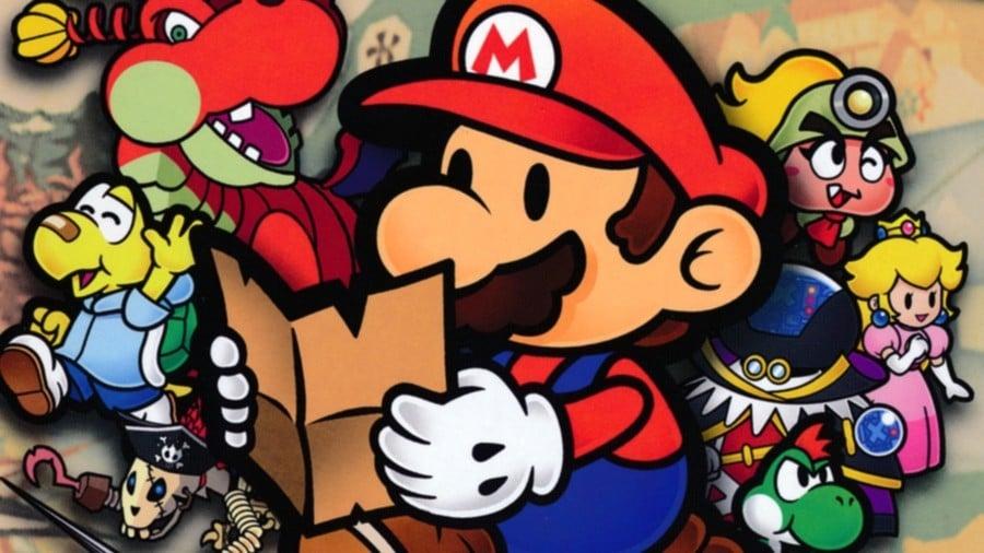 Best Paper Mario Games