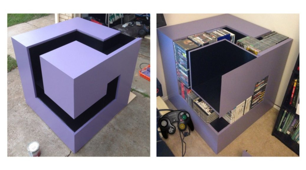 Random: This GameCube Logo Storage Unit Is One Of The Best Things We've Ever Seen