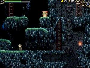 Caverns to explore