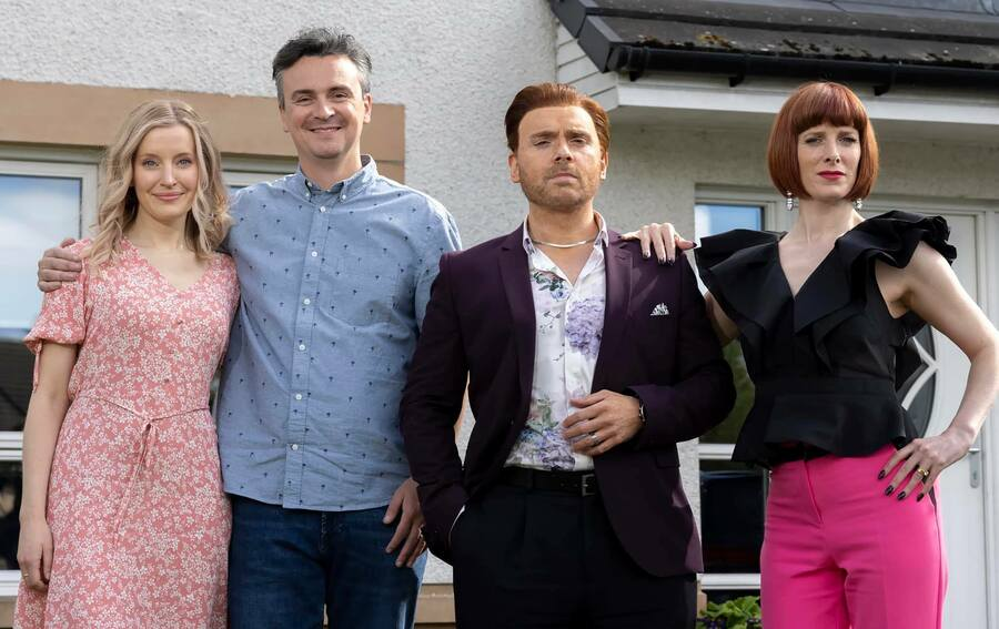 Florence's latest sitcom, The Scotts, is available on BBC iPlayer now